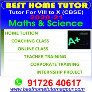 Best Home Tutor Class 10 CBSE