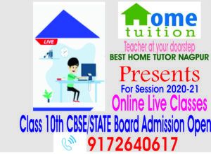 Online Live Classes From BHT Nagpur